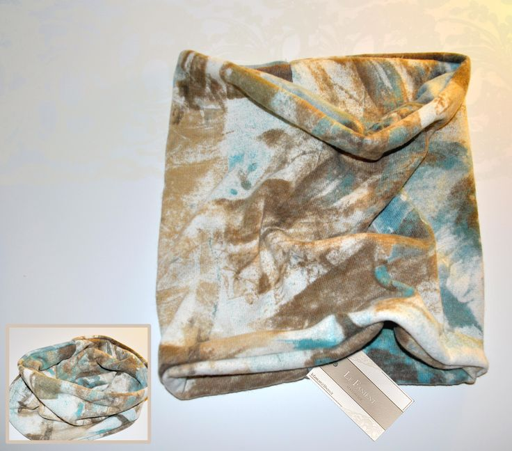 #scarf #infinity #neck #tube #cloud #fashion #style #pattern #handmade #light