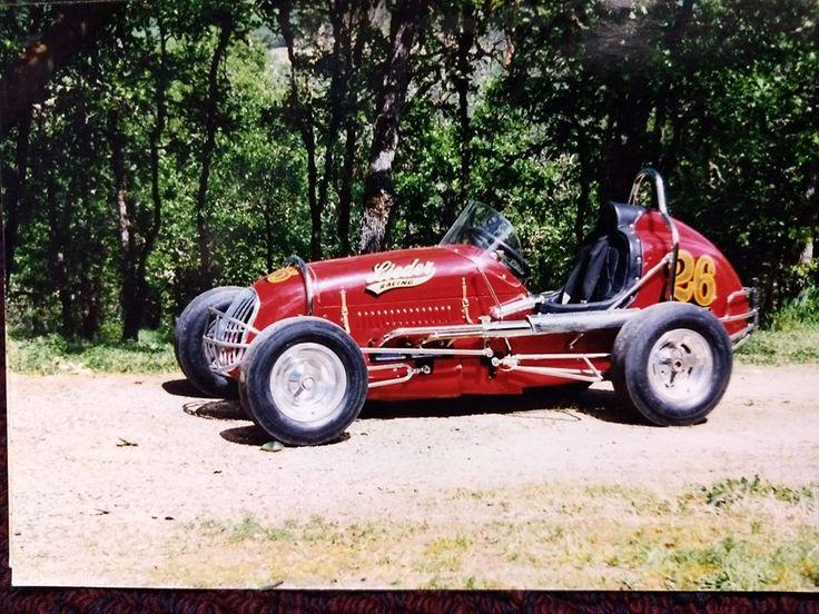 Vintage Midget.Edmunds Chassis..VW motor. - YouTube