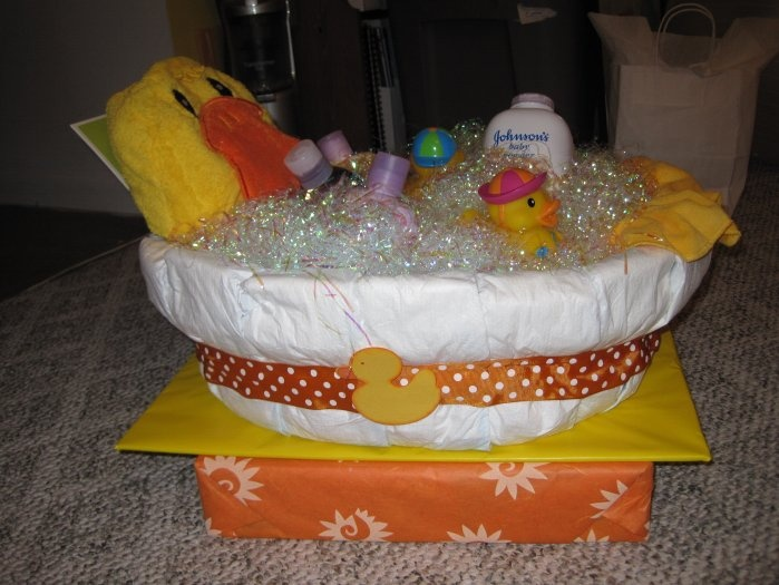 Diaper Tub Baby Baby Shower Diapers Baby Shower Gifts