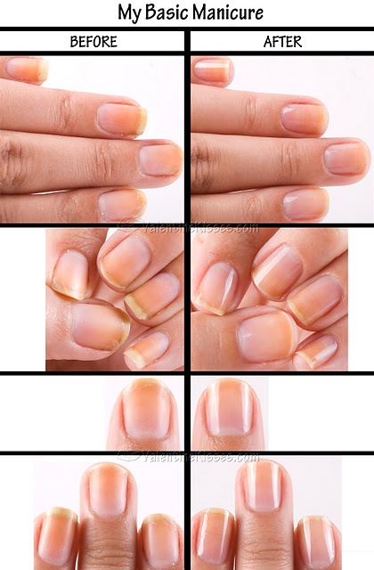 Basic Manicure Nail Care Routine