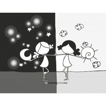 Lámina 'Day & night'