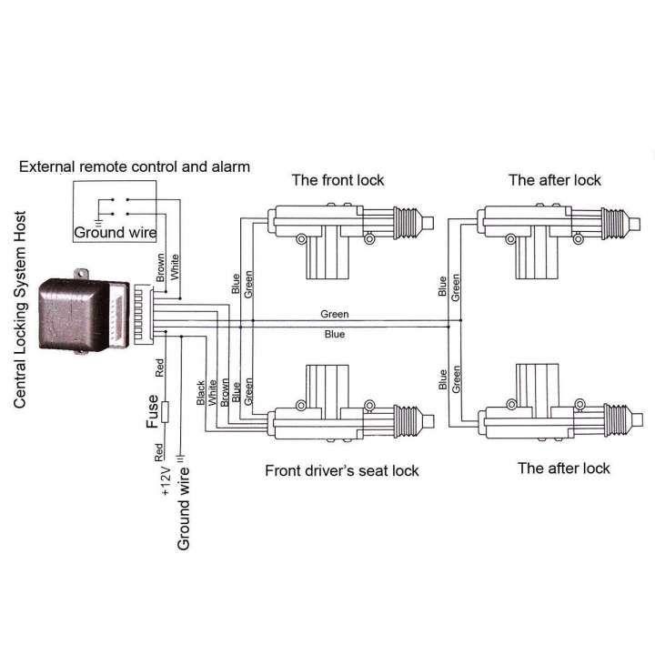 Central Locking System Wiring 1994 Dodge Viper Wiring Diagram Bege Wiring Diagram