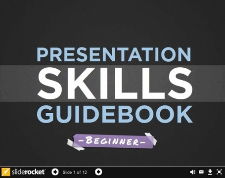 A Presentation Skills Guidebook For Beginners Digital - resume presentation skills