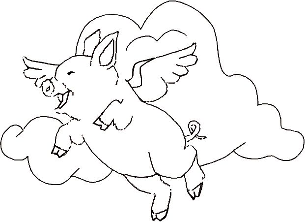 fly angel coloring pages - photo#3