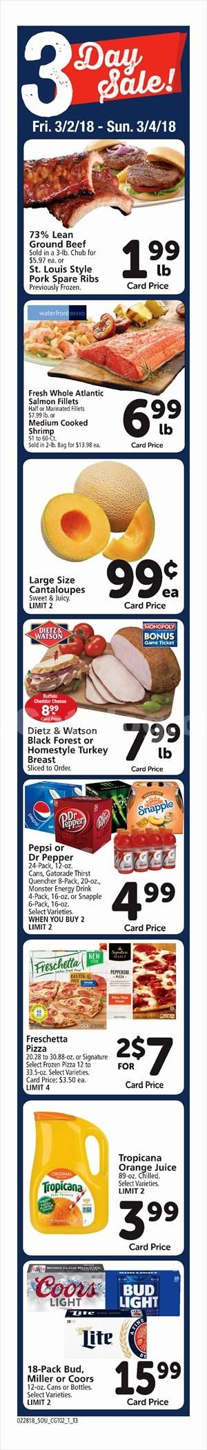 Tom Thumb 3 Day Sale March 2 – 4, 2018 – Tom Thumb weekly circular comes on the scene almost weekly but sometimes people see the Tom Thumb ad and they are generally quick to throw it out. Checking the ads every single week and clipping out your coupons that will inside weekly circular can actually be an extremely rewarding experience. Tom Thumb regularly includes coupons which can equate his almost as much as 50% off your purchase. Which means that you could attem