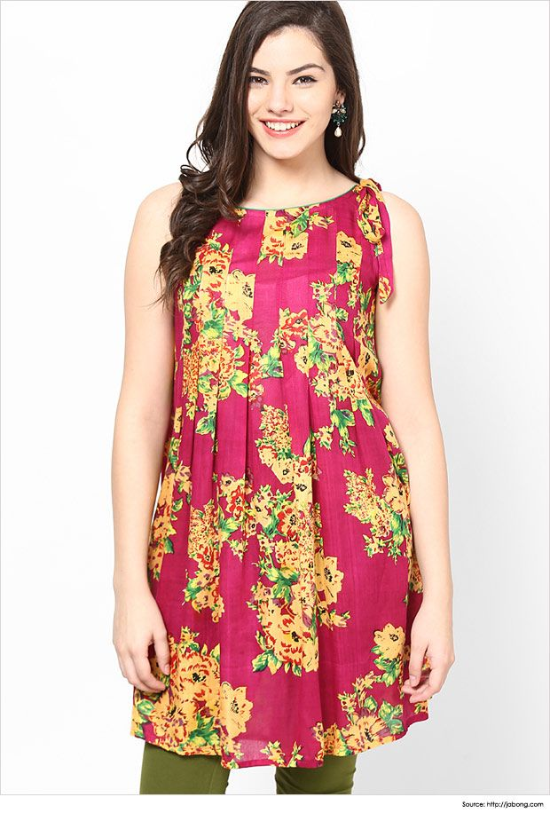 Top 6 Simple Yet Stylish Neck Designs For Kurtis ...