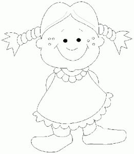 Human Body Coloring Pages For Preschool