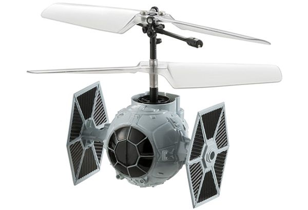 Battle With Mini X-Wing, Millennium Falcon, And TIE Fighter RC Toys