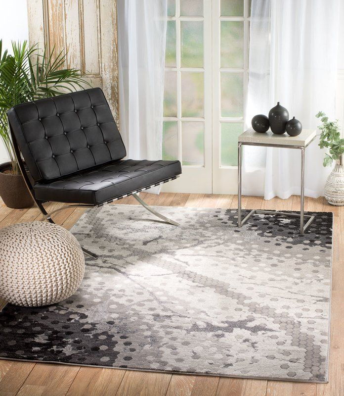 Ross Glamour Mosaic Gray Area Rug Area Rugs Interior Rugs Rugs