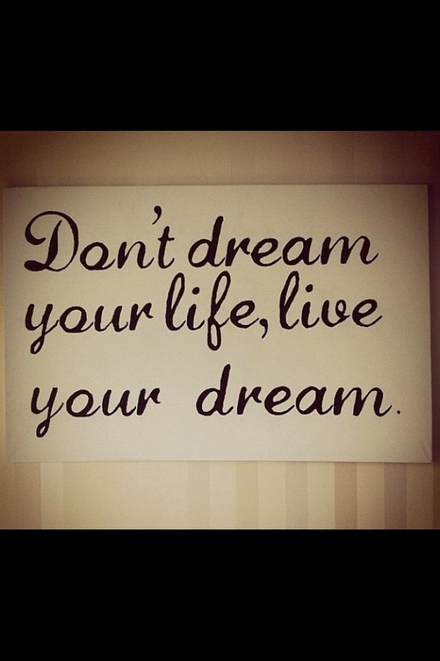 living your dreams Welcome to our online oasis for women: a website with great resources, tips, guidance and articles designed to inspire you to live your dreams.