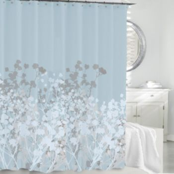 Kassatex Willow Fabric Shower Curtain