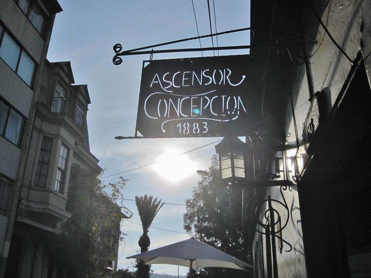 Ascensor Concepcion, Valparaiso, Chile