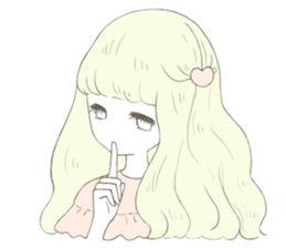 girl sticker