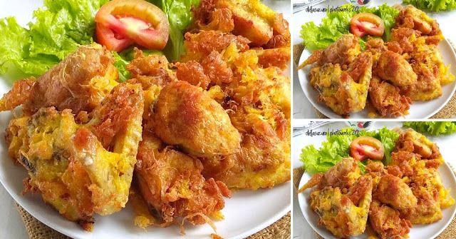 Ayam Goreng Telur Resep Praktis Bikin Yang Biasa Jadi Istimewa Resep Spesial Di 2020 Resep Ayam Ayam Goreng Makanan