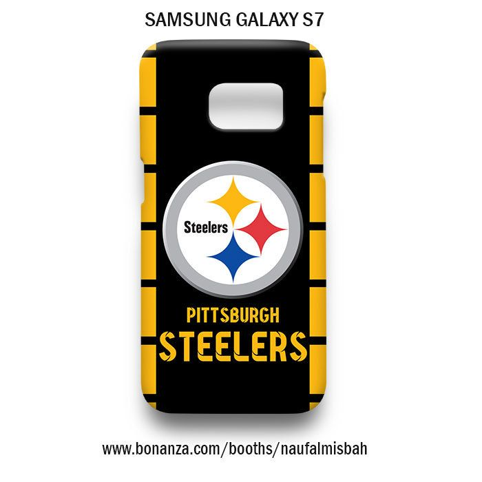 Pittsburgh Steelers Logo Samsung Galaxy S7 Case Cover Wrap Around