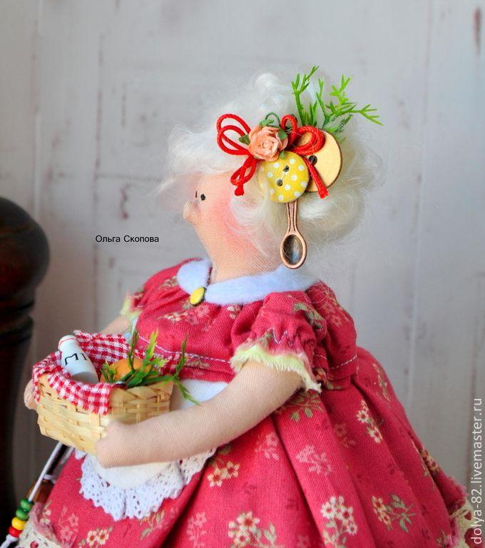 Купить Толстушка-стильное украшение кухни- неординарный подарок). - толстушка, повариха, кухня, тильда