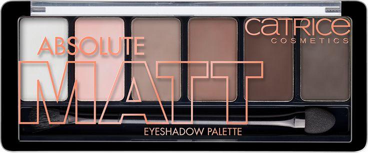 Absolute Matt Eyeshadow Palette 010 | CATRICE COSMETICS