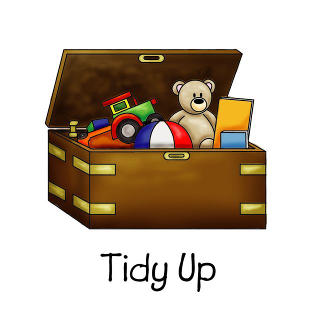 Tidy Up Chore Chart Clipart Pinterest