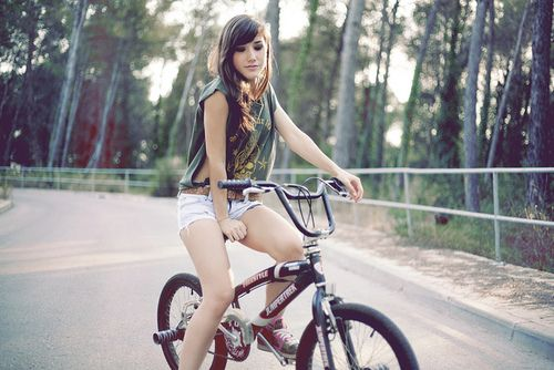 bmx and girl wallpaper - photo #13