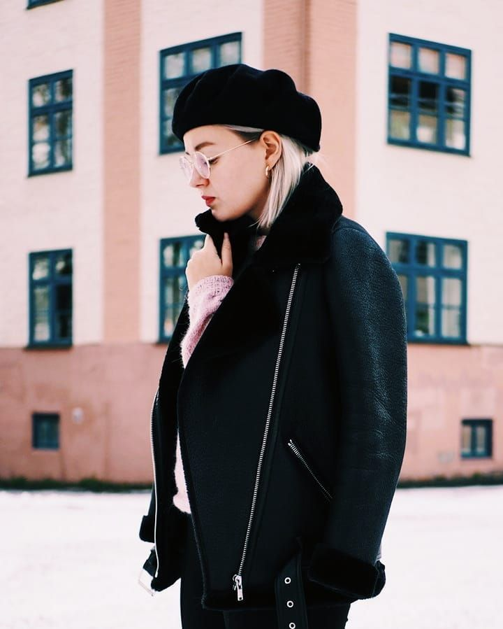 When in doubt wear a beret . . . . . . . #whatiwore #fashionstatement #moreontheblog #winteroutfit #beretoutfit #beret #baskeri #scandioutfit #scandifashion #zara #extraoptical #vscocam #olympusepl7