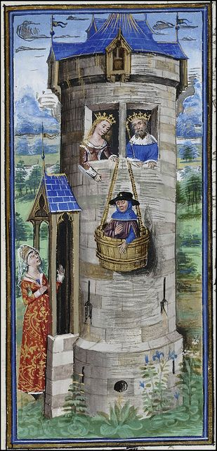 The Book of the Hunt of King Modus & Queen Ratio - 15th century Flemish manuscript miniatures