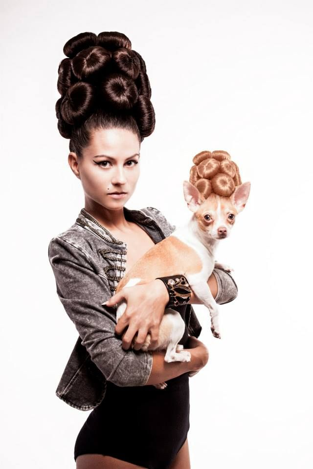 Mai kedvenc #konty #Hair: Schmidt Georgina / Hajas CCC 2014. - Sztárok kedvence #frizura Több kép: http://remeka.hu/index.php/magazinxmszakmai-frissxm/single-column-blog-194/629-hajas-cut-color-competition-2014