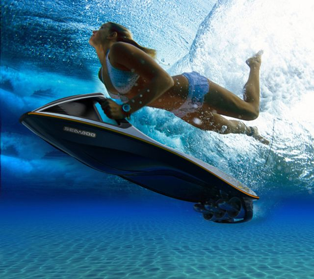 Powered Body Board, can also double as a Skier Controlled tow boat instead.