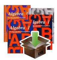 Digital Download for DIVE Algebra 1 + Saxon Algebra 1 Homeschool Kit