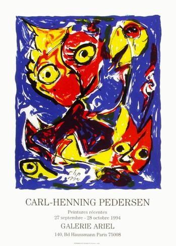 Exposition Galerie Ariel Samlertryk af Carl-henning Pedersen på AllPosters.dk