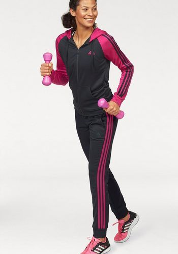 4b135ea6829a adidas Performance Trainingsanzug »WOMEN TRACKSUIT POLYESTER COSY« (Set, 2  tlg), auch in großen Größen   Fitness clothing   Clothes, Fashion, Fitness