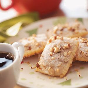 Cinnamon Almond Strips Recipe    Ingredients        1-1/2 cups butter, softened      1 cup Imperial Sugar® / Dixie Crystals® Granulated Sugar      3 eggs, separated      3 cups all-purpose flour      TOPPING:      1-1/2 cups Imperial Sugar® / Dixie Crystals® Granulated Sugar      1 cup finely chopped almonds      1-1/2 teaspoons ground cinn