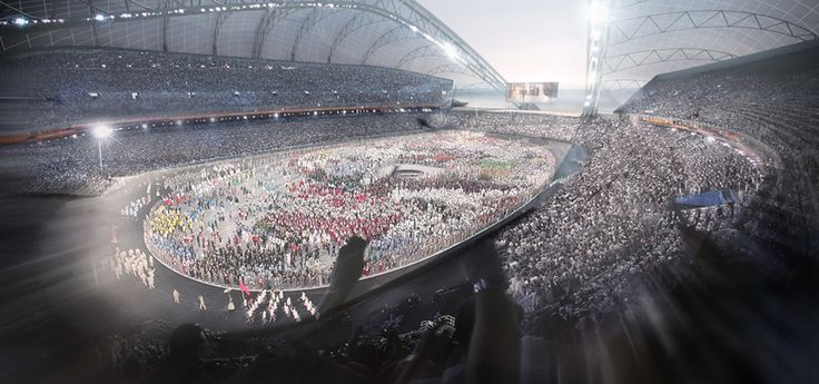 2014 Winter Olympic Stadium in Sochi, Russia