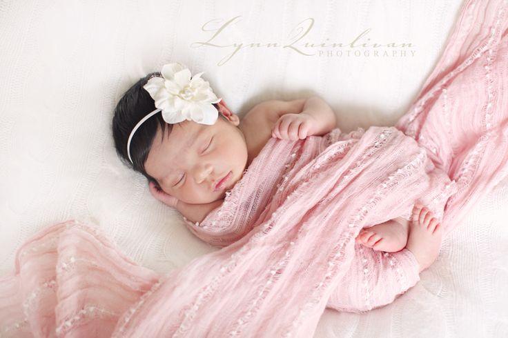 Beautiful Smiley Baby Girl – Massachusetts Newborn Portrait Photographer » Lynn Quinlivan Photography Blog