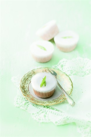 Cupcakes miel et verveine - Larousse Cuisine