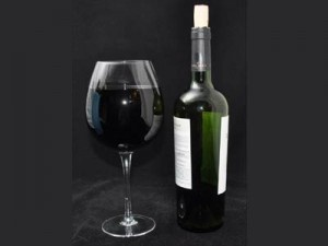 The full bottle wine glass holds an entire bottle of wine. No one will know you've lost complete control of your life.