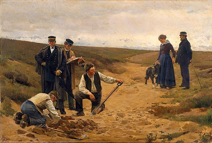 Erik Henningsen: Summus jus, summa injuria / Barnemordet, 1886