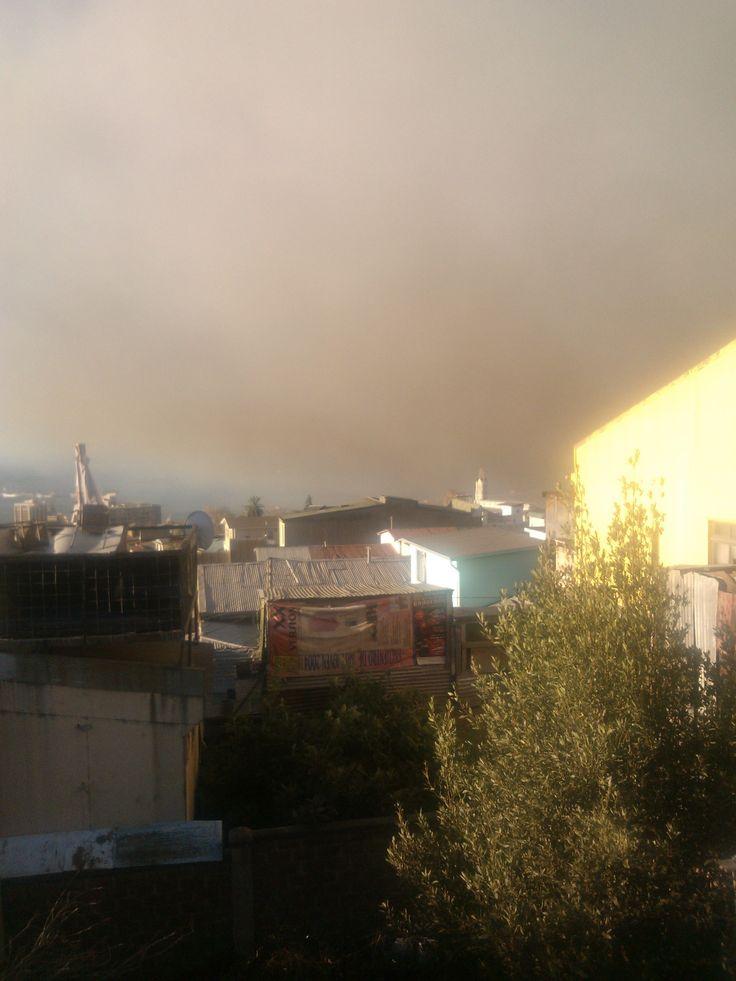 Incendio en mi Valparaíso.