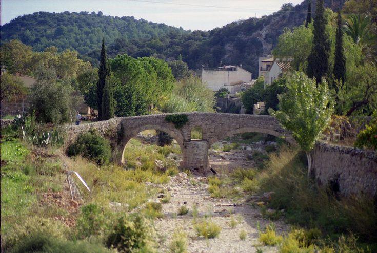 Roman Bridge, Pollença, Mallorca, Spain