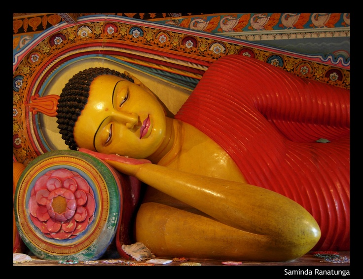 Isurumuniya Temple in the sacred city of Anuradhapura, Sri Lanka
