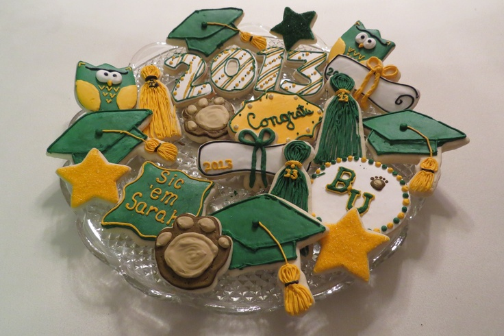#Baylor graduation cookies!