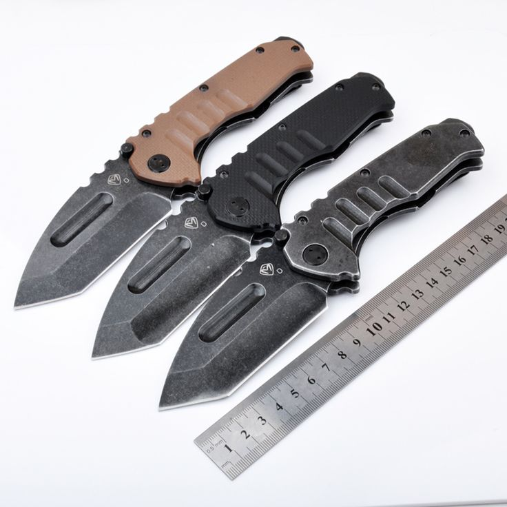 Stainless steel folding hunting pocket EDC knives for sale