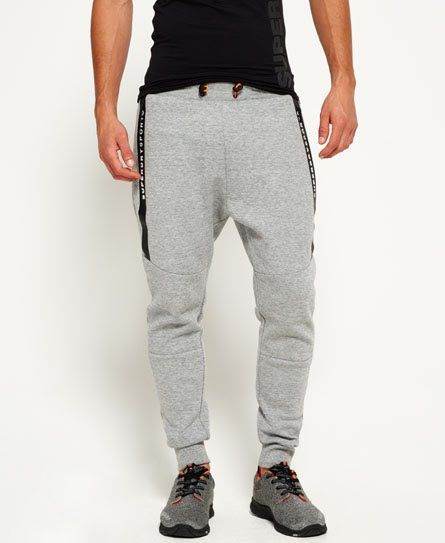 Superdry Gym Tech Panel joggers  Grå
