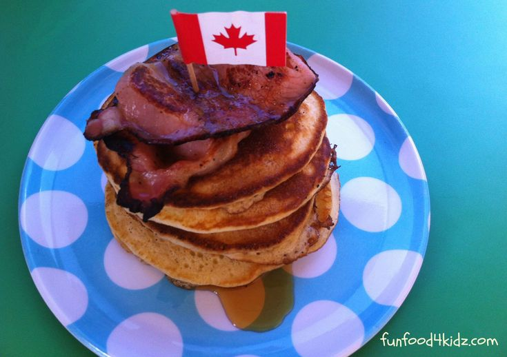 Around the World in 18 Breakfasts, Week 13: Canada - Pancakes with maple syrup and bacon