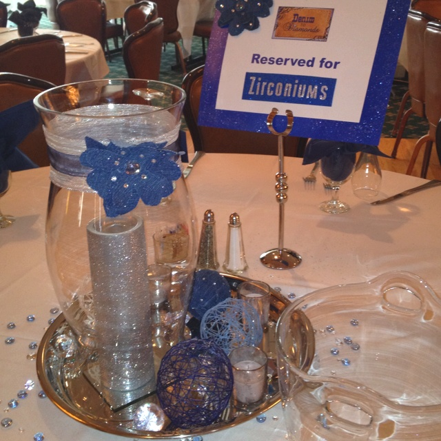 Best denim and diamonds theme bat mitzvah party ideas