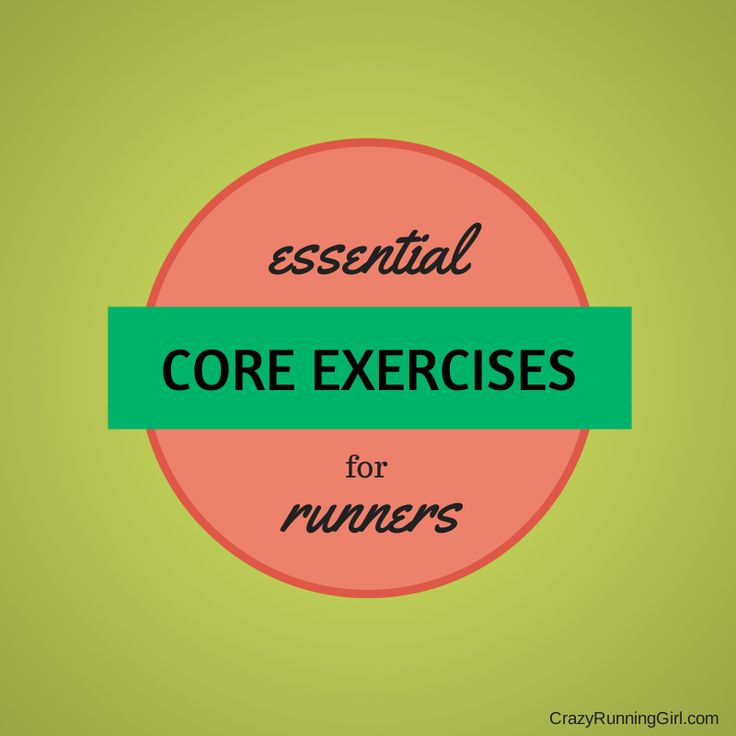A core workout for runners #FitFluential #RUN #CORE