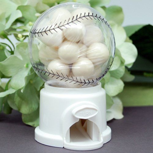 Mini Baseball Gumball Machine by Beau-coup
