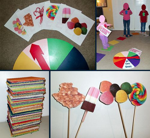 Life sized Candy Land.  Has cool solutions to some issues.: Candyland Program, Life Sized Candyland, Life Size Candyland Game, Lifesized Candyland, You Re Crafty, Birthday Candyland, Lifesize Candy, Candyland Party, Candy Land