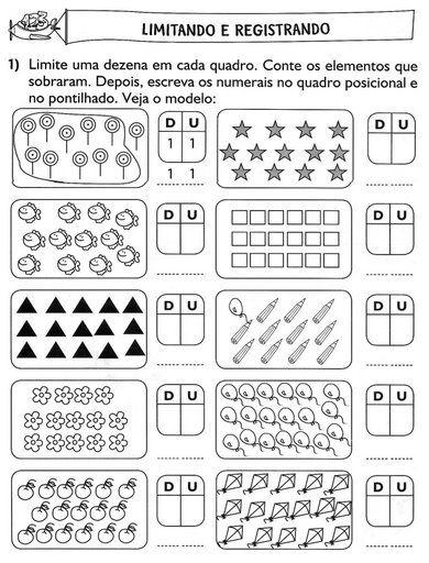 Resultado de imagen de agrupar en decenas y unidades