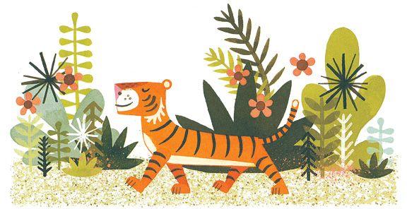 Mr. Tiger Goes Wild (Brown) ©2013 by Peter Brown