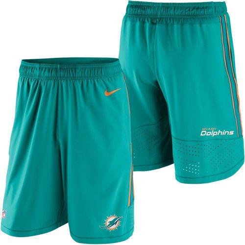 Miami Dolphins Nike Speed Vent Performance Shorts - Aqua